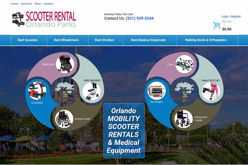 OrthoStat Medical Supplies / Scooter Rental Orlando Theme Parks