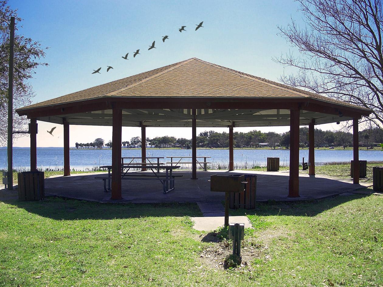 Leesburg, FL Venetian Gardens pavilion rental