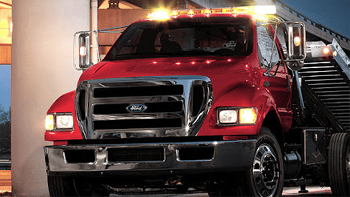Lake County Towing Ford Truck