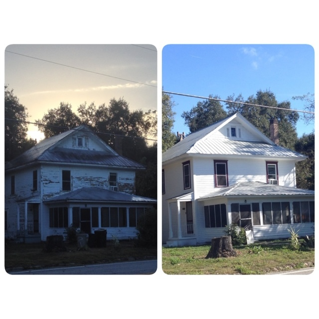 Anchor Coatings - This Old House Before & After